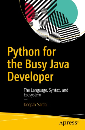 Python for the busy Java Developer book cover